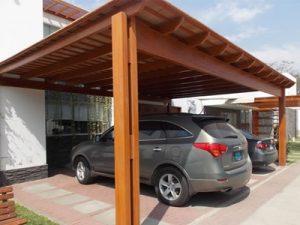 Medine stogine automobiliui Inovatyvi statyba www.santvaros.lt