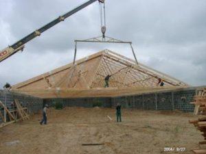 Mediniu konstrukciju zemes ukio pastatai Inovatyvi statyba www.santvaros.lt