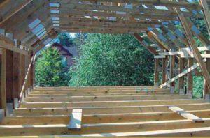 Mansardinis stogas gyvenamajam namui santvaros.lt