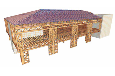 Visuomeniniai medinių konstrukcijų pastatai - santvaros.lt