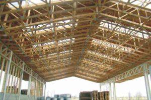 angaras su didelio tarpatramio medinėmis santvaromis-projektai-santvaros.lt