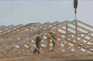 medinis angaro stogas iš santvarų-projektai-santvaros.lt
