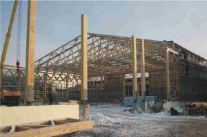 sandėlis- su didelio tarpatramio medinėmis santvaromisprojektai-santvaros.lt