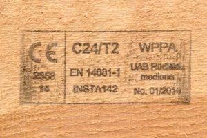 C24 klases mediena santavru gamybai UAB Inovatyvi statyba www.santvaros.lt